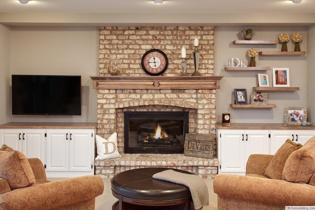 Finest TJB Remodeling | Media Walls & Fireplaces & Gallery WK39