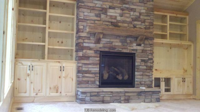 Tjb Remodeling Media Walls Amp Fireplaces Amp Gallery
