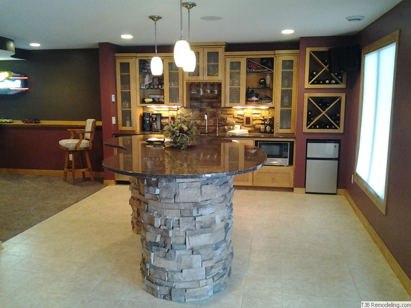 Maple Grove Lower Level Remodel