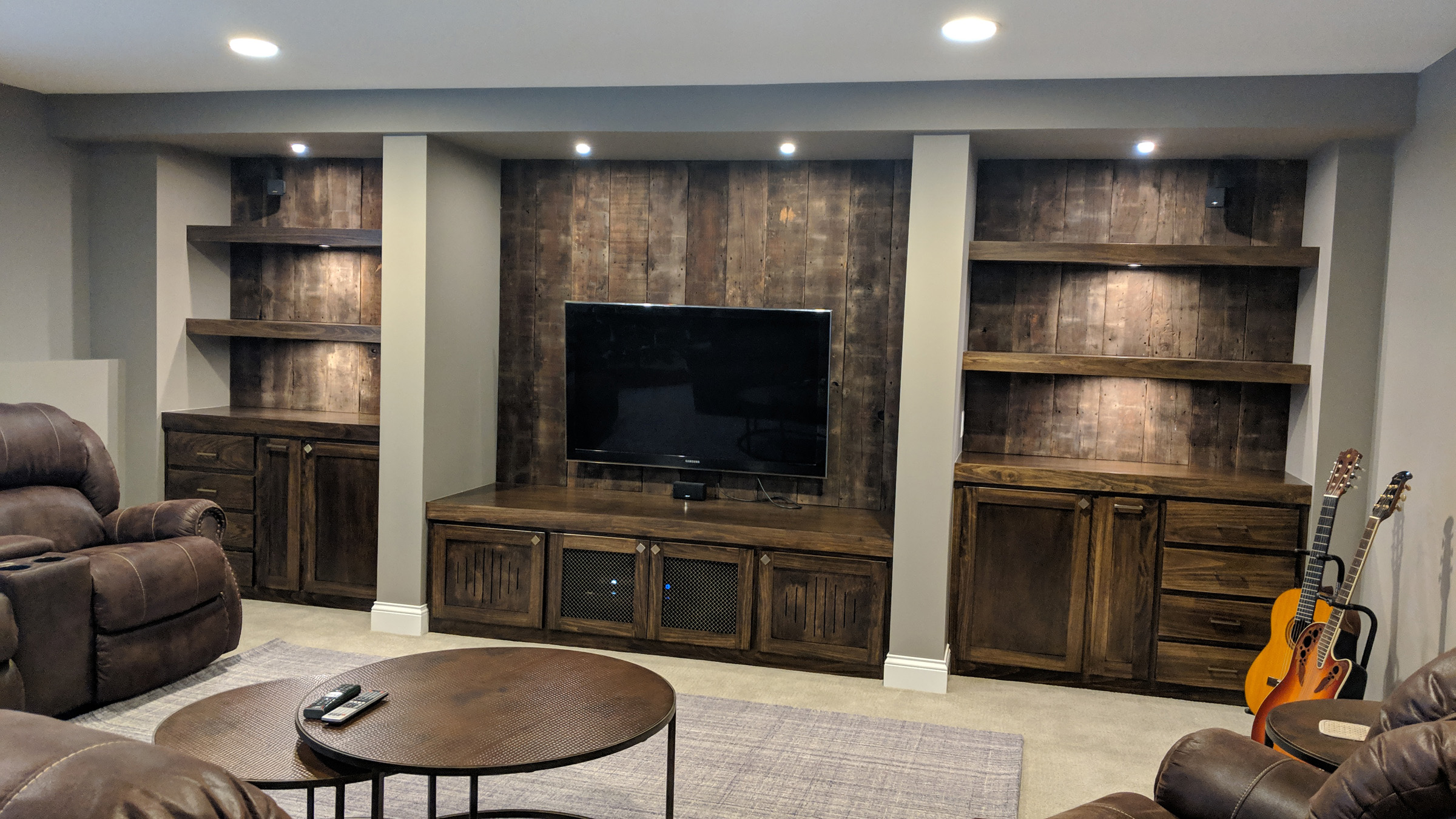 Mounds View Poplar Lower Level Finish