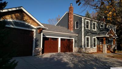 new brighton garage addition exterior remodel - Garage Addition