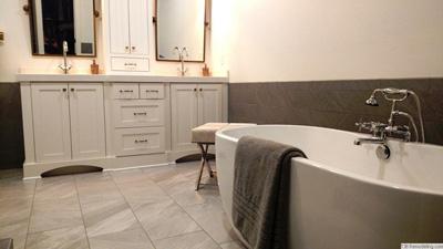 Roseville Master Bathroom Remodel - Bathroom remodel roseville