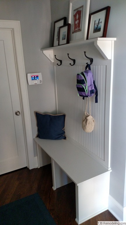 Built-in cubbies