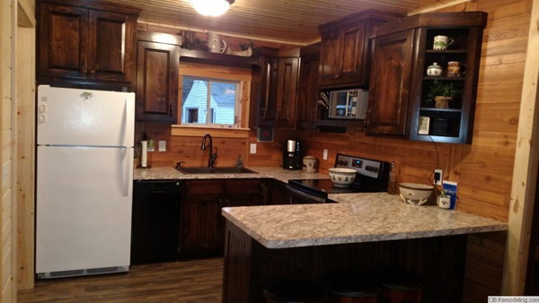 Tjb Remodeling Small Cabin Remodel